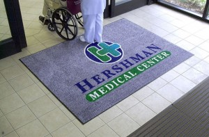 Logo Mat by Baltimore Washington Mat Service